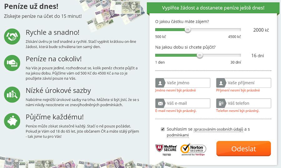 Online půjčky do 4000